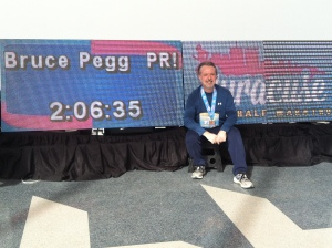 Proof of the PB! Inaugural Syracuse 1/2 Marathon, March 24, 2013.