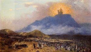 Jean-Léon Gérôme (1824 - 1904): Moses on Mount Sinai, c. 1895-1900