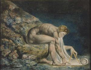 William Blake (1757-1827): Newton 1795/c.1805
