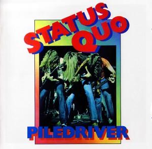 Status Quo - Piledriver - Front